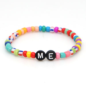 Personalized Saying Alphabet Bead Word Kandi Bracelets