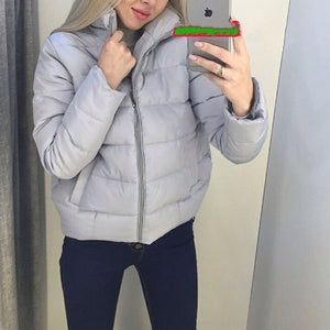 Warmest Packable Bubble Padded Short Puffer Jacket Women