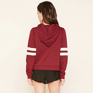 Turtleneck Slash Plain Hoodie Sweatshirt Pullover