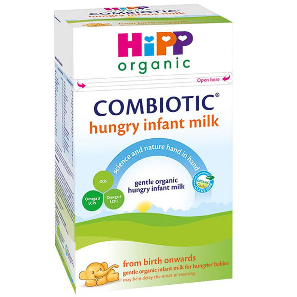Hipp UK stage Hungry infant formula 0+ months