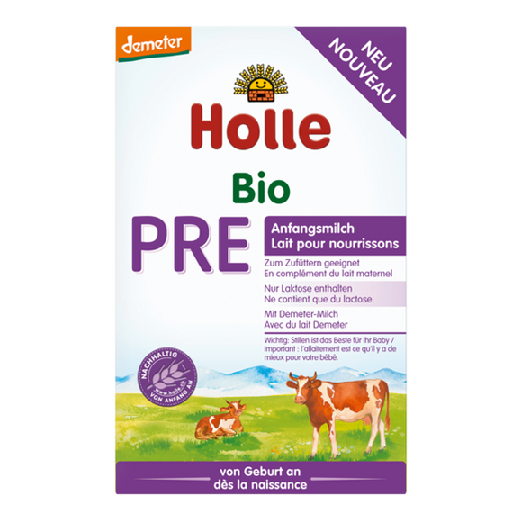 Holle stage Pre Infant formula 0+ months