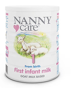 Nanny Care stage 1 First infant goat formula 0+ months