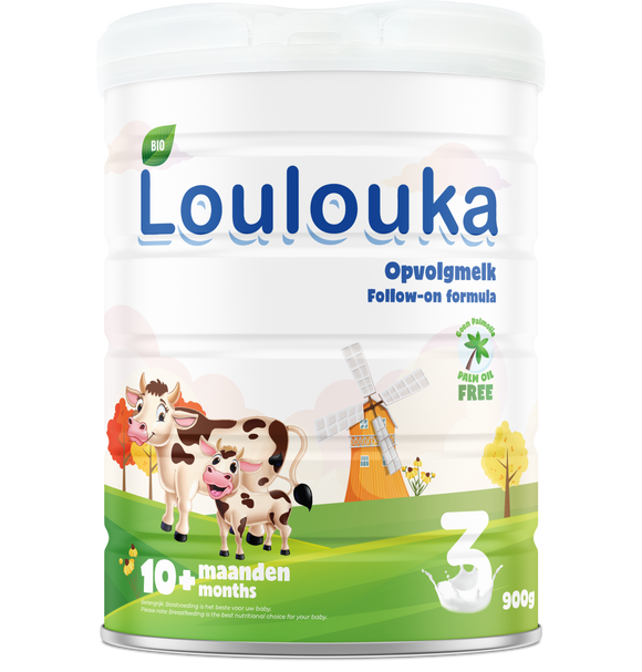 Loulouka Organic stage 3 Follow on formula 10+ months 900gram
