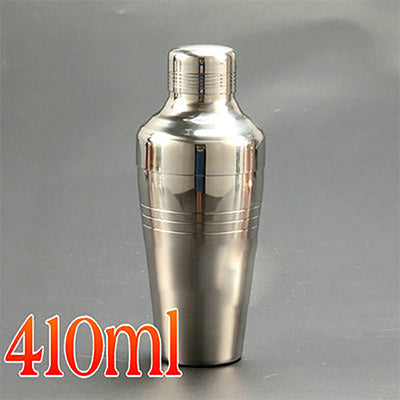 Free Shipping 410ml Japanese Style Stainless Steel Cocktail Shaker Bartender Tool