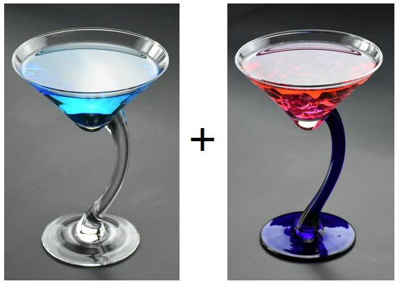 200ml Creative Curved Legs Champagne/Cocktail Flutes Serial Lead-free Margarita Martini Glasses Goblet Lover Birthday Gifts