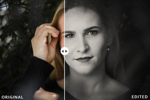 lightroom portrait presets black and white
