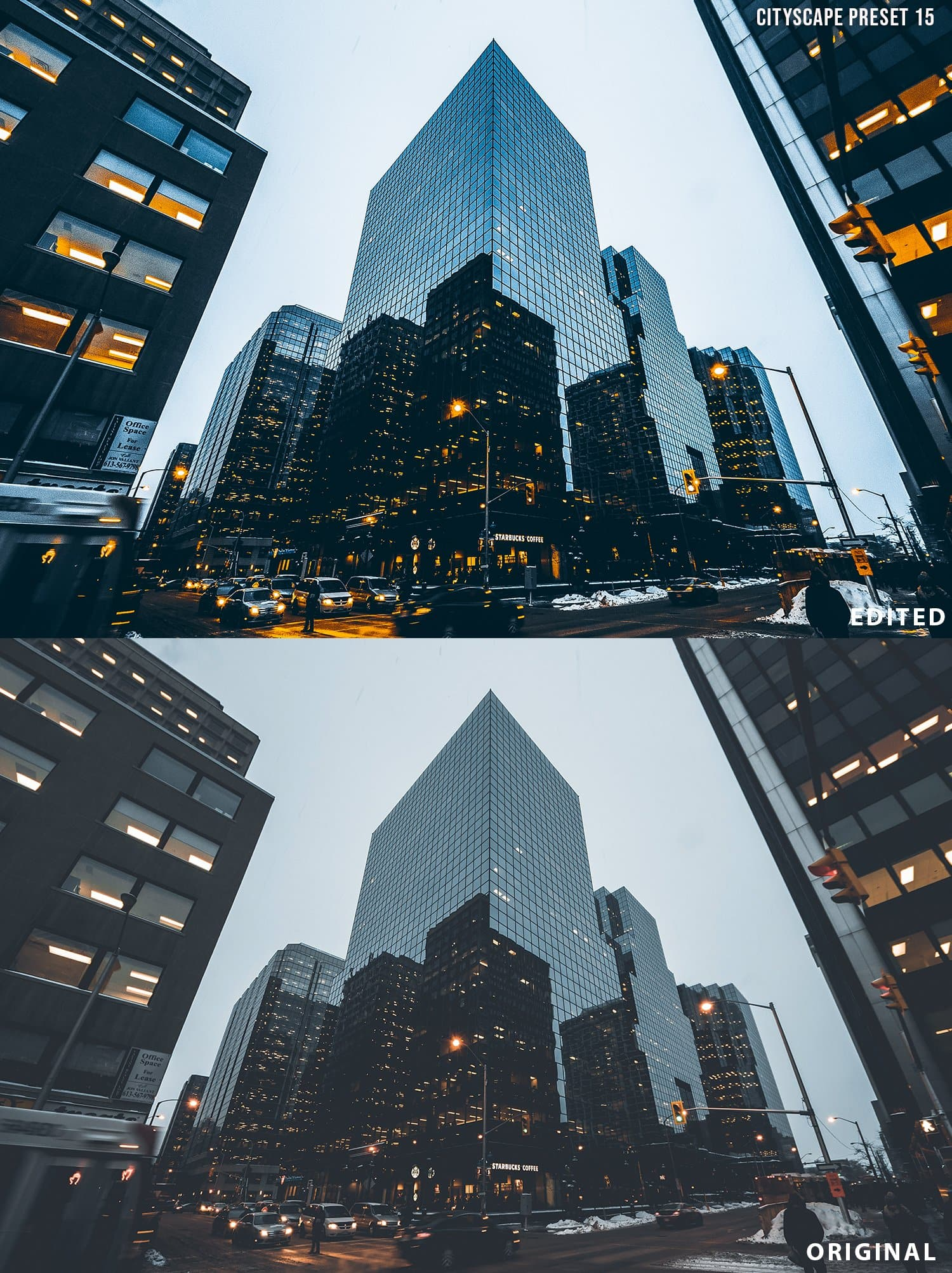 Cityscape Photography Lightroom Presets - presetsh photography