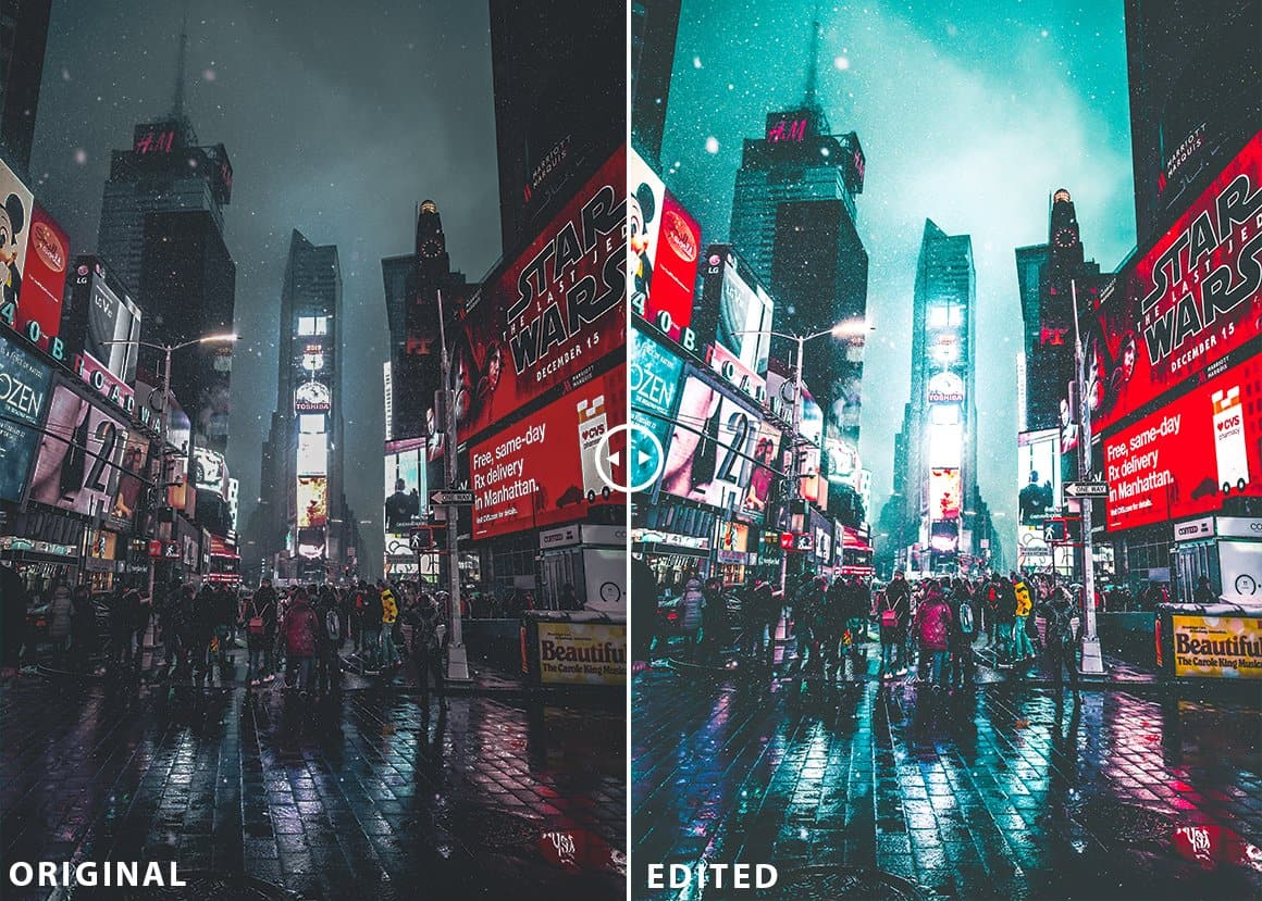 Neon Nights Adobe Lightroom Preset Collection & Camera Raw - presetsh photography