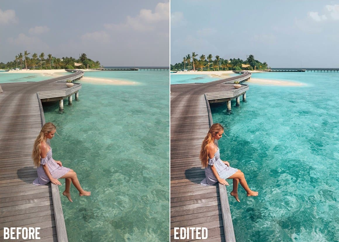 Summer Travel Blogger mobile presets 7