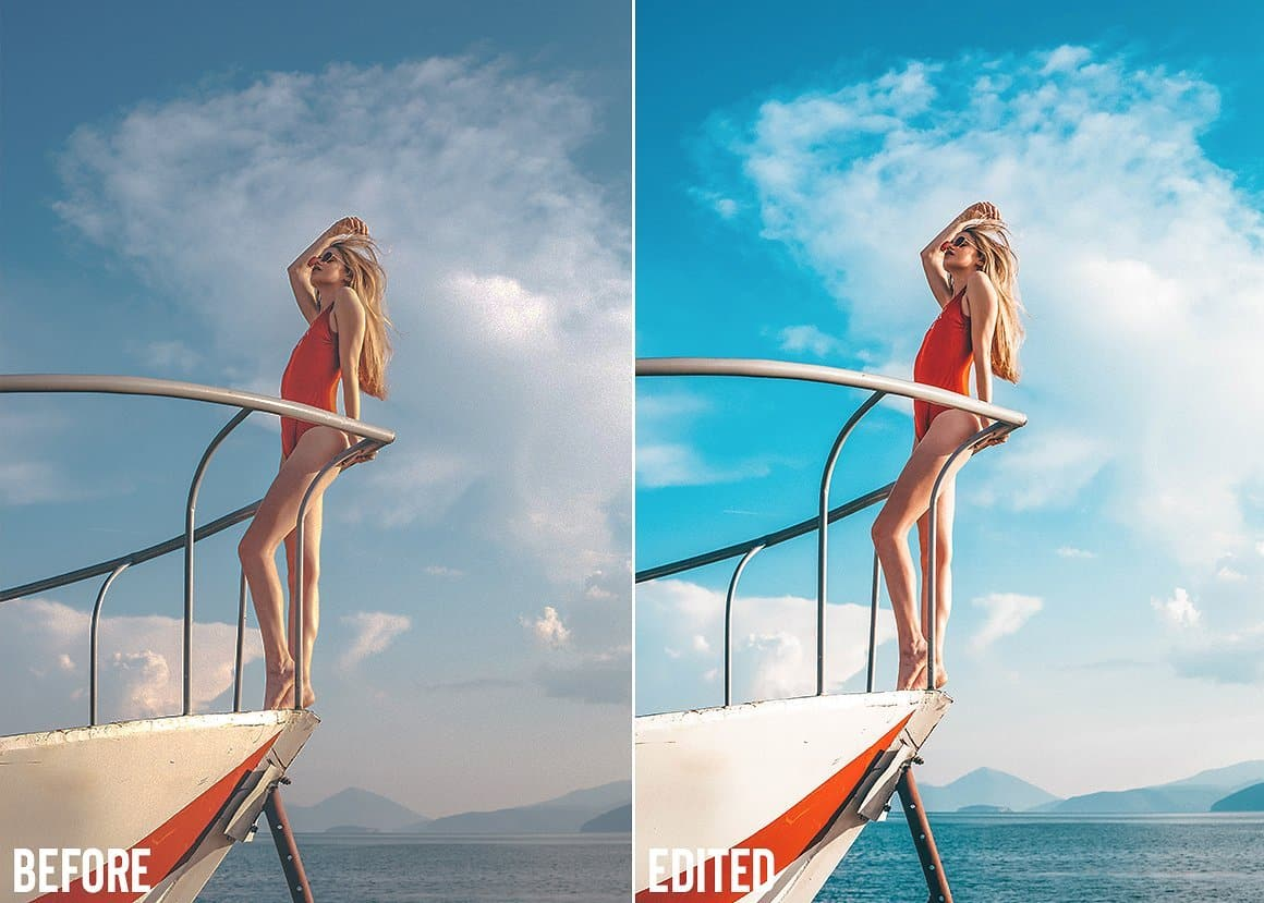 Summer Travel Blogger Lightroom Presets Collection - presetsh photography