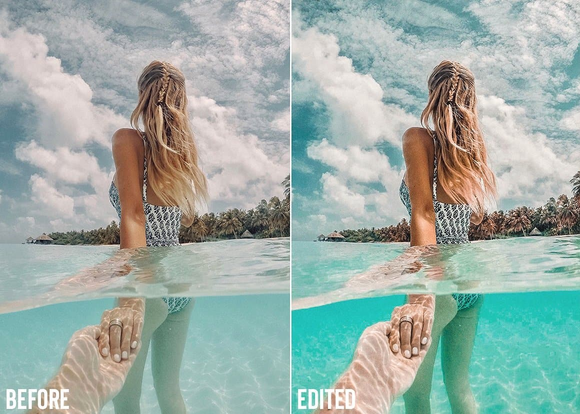 Summer Travel Blogger mobile presets 6