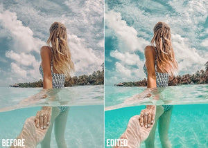 Summer Travel Blogger Lightroom Presets