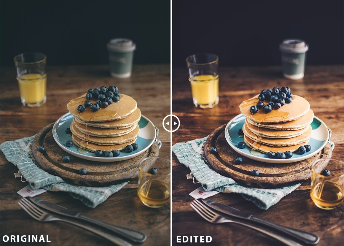 best Food blogger lightroom presets