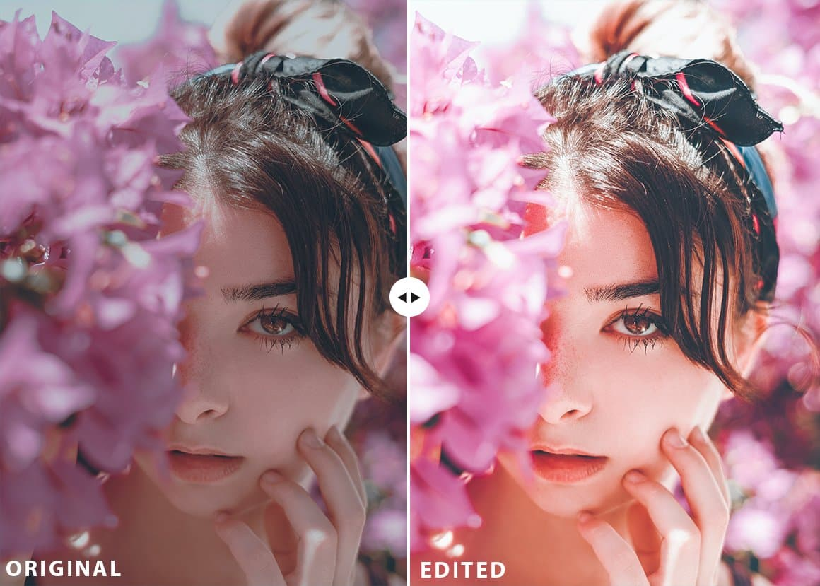 portraits collection lightroom presets film preset