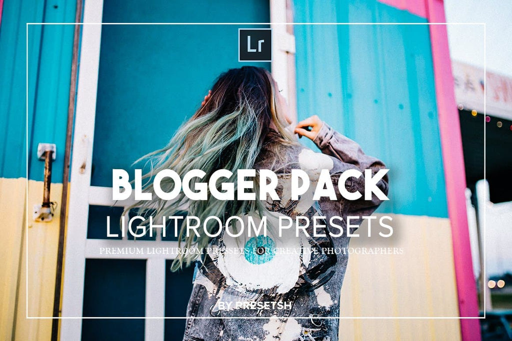 25 Pro Blogger Lightroom Presets
