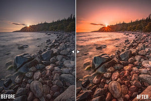 lightroom presets for sunrise and sunset