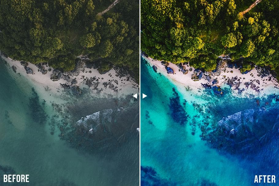 Drone Lightroom Presets