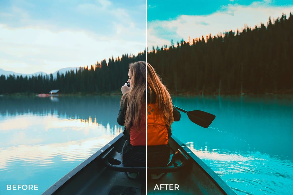 30 Orange & Teal Lightroom Presets - presetsh photography