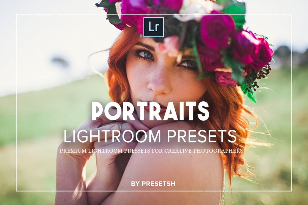25 portraits collection lightroom presets - presetsh photography