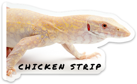 Chicken Strip Sticker