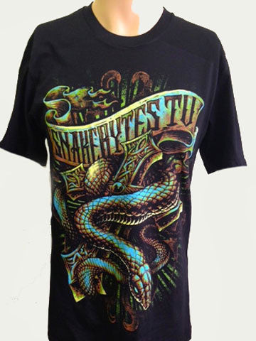 SnakeBytes Snake & Cross  T-Shirt