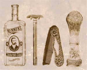 THE HISTORY OF SHAVING