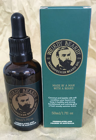 Weirdy beardy beard oil