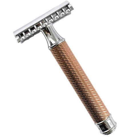 Muhle R41 Open Comb Safety Razor Rose Gold