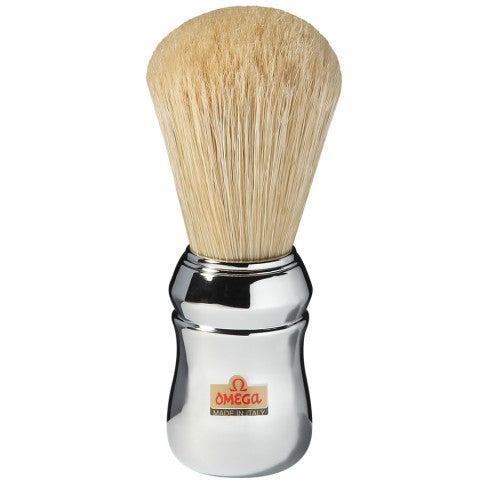 OMEGA PURE BRISTLE SHAVING BRUSH – PROFESSIONAL 10048 - Ozbarber