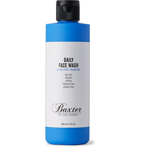 BAXTER OF CALIFORNIA DAILY FACE WASH 236ML - Ozbarber