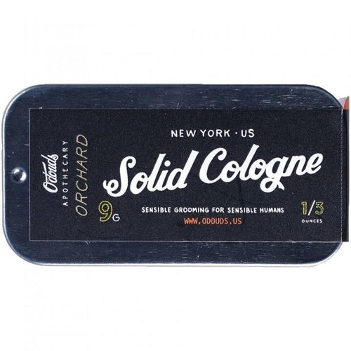 O'DOUDS ORCHARD SOLID COLOGNE 9G - Ozbarber