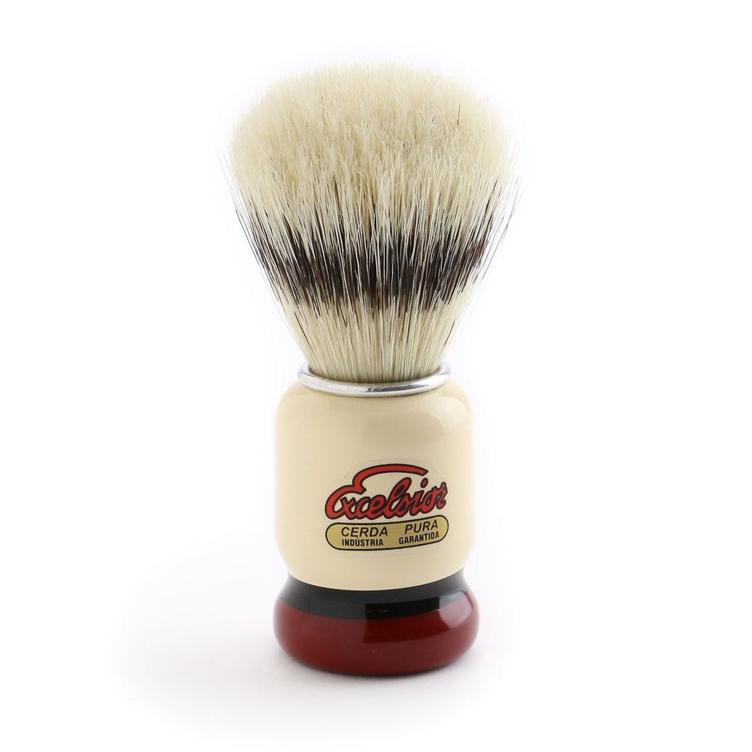 Semogue 1438 Painted Handle Pure Boar bristle Shaving Brush - Ozbarber