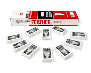 Feather Hi Stainless Double Edge Blades (50)