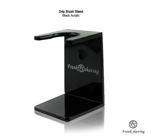 FRANK SHAVING ACRYLIC STAND FOR SHAVING BRUSH - Ozbarber