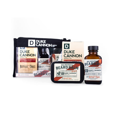 DUKE CANNON BIG BOURBON BEARD KIT - Ozbarber