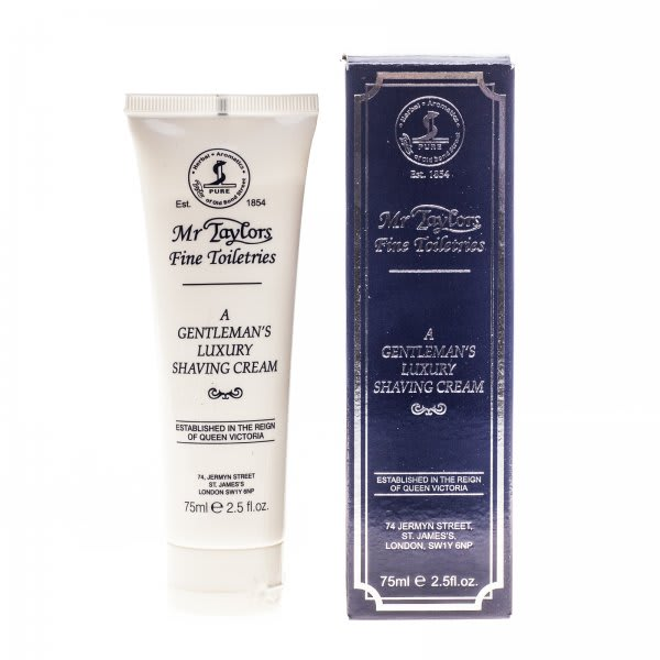 Taylor Of Old Bond Street Mr Taylors Shaving Cream Tube 75ml