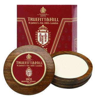TRUEFITT & HILL 1805 SHAVE SOAP WITH BOWL 99G - Ozbarber