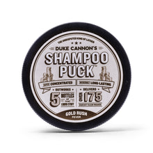 Load image into Gallery viewer, DUKE CANNON SHAMPOO PUCK - GOLD RUSH FEVER - Ozbarber