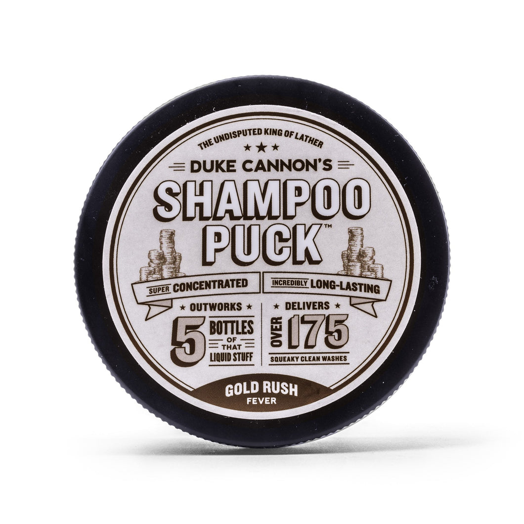 DUKE CANNON SHAMPOO PUCK - GOLD RUSH FEVER - Ozbarber