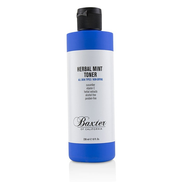 BAXTER OF CALIFORNIA HERBAL MINT TONER 236ML - Ozbarber