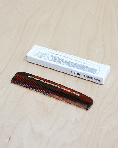 BAXTER OF CALIFORNIA BEARD & MOUSTACHE COMB - Ozbarber