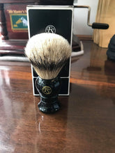 Load image into Gallery viewer, FRANK SHAVING SILVERTIP BADGER SHAVING BRUSH SI20-EB20 - Ozbarber