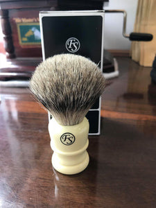 Frank Shaving best Badger ivory Handle shaving brush - Ozbarber