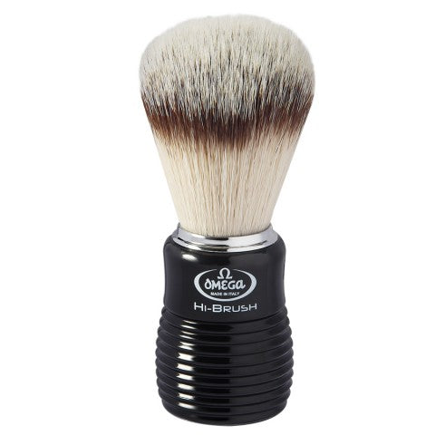 OMEGA HI-BRUSH FIBER SHAVING BRUSH 0146081 - Ozbarber