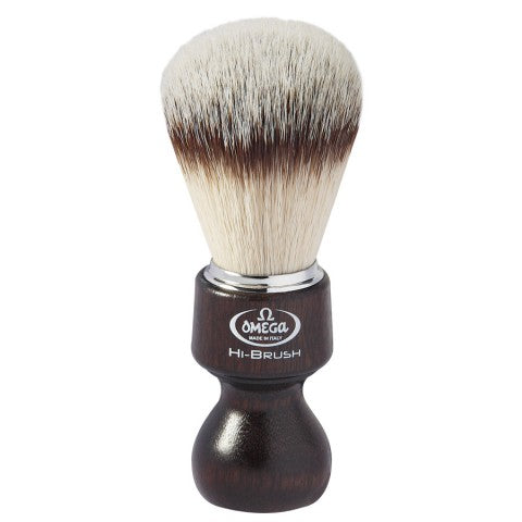 OMEGA HI-BRUSH FIBER SHAVING BRUSH 0146126 - Ozbarber