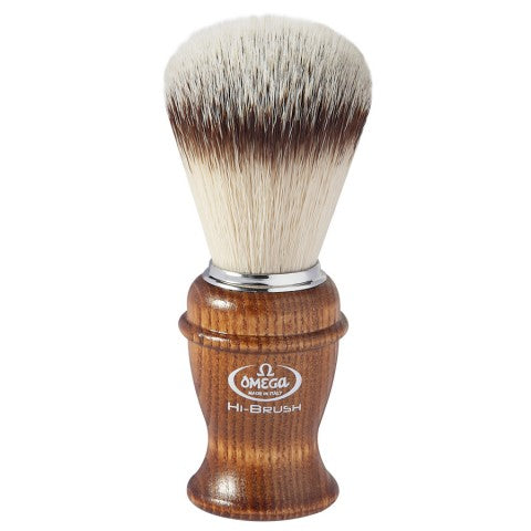 OMEGA HI-BRUSH FIBER SHAVING BRUSH 0146138 - Ozbarber