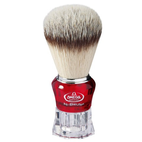 OMEGA HI-BRUSH FIBER SHAVING BRUSH 0140652 - Ozbarber