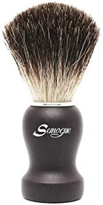 Semogue Pharos-C3 Pure Black Badger Shaving Brush - Black