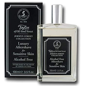 TAYLOR OF OLD BOND STREET JERMYN STREET ALCOHOL FREE AFTERSHAVE SPRAY 100ML - Ozbarber