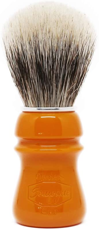 Semogue Owners Club Butterscotch Finest Badger Shaving Brush